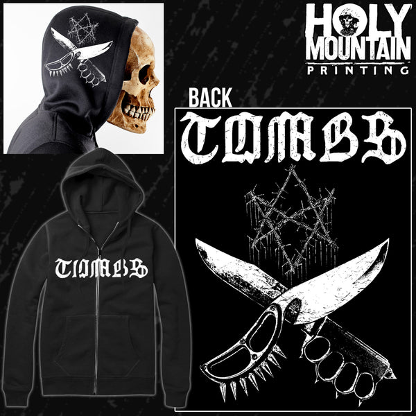 "TOMBS ""NOVEMBER WOLVES"" ZIP UP SWEATSHIRT"
