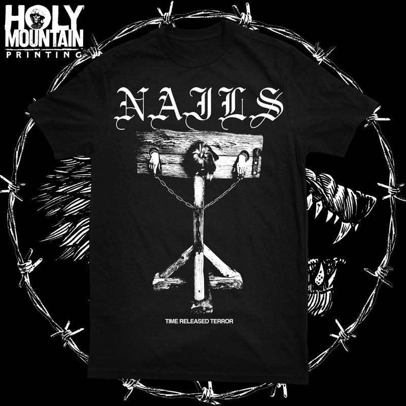 "NAILS ""TIME RELEASED TERROR"" SHIRT"