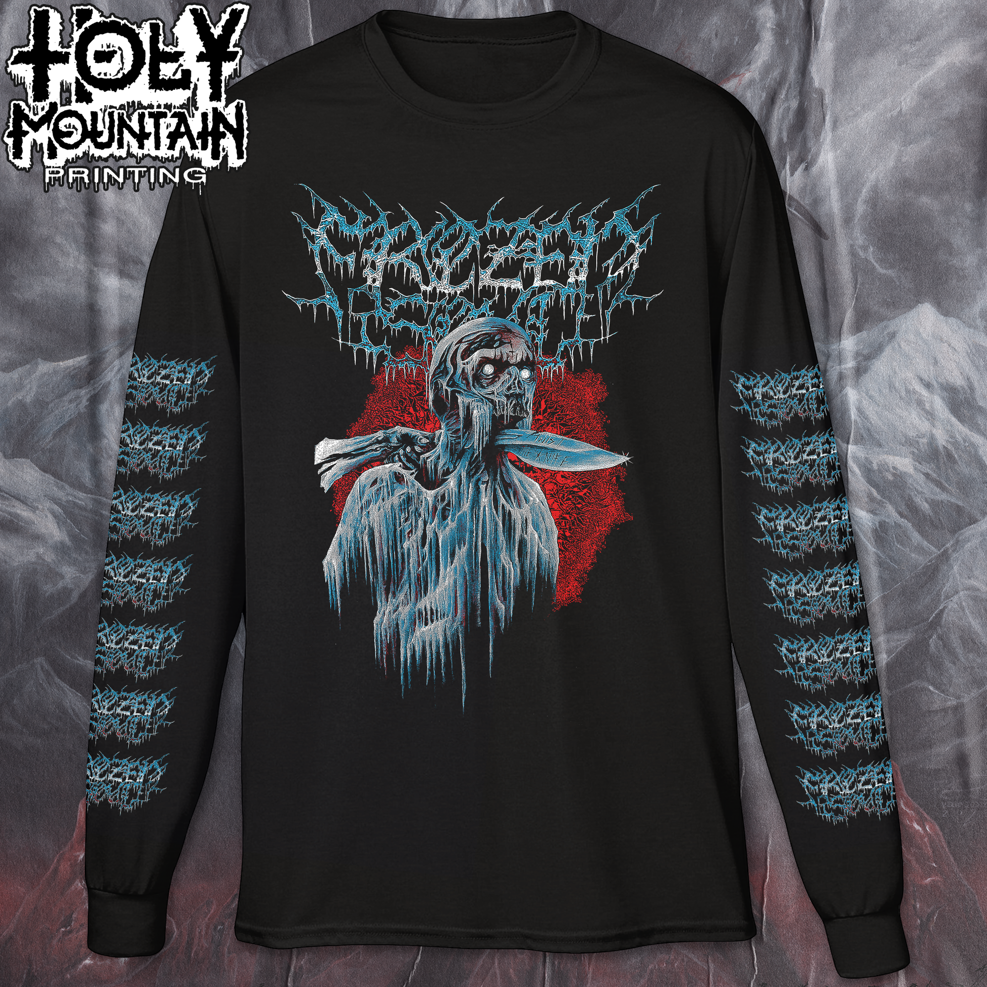 "FROZEN SOUL ""TWIST THE KNIFE"" LONG SLEEVE SHIRT"