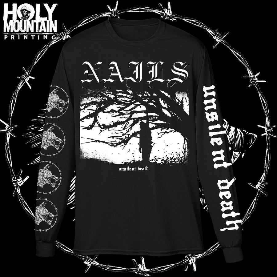 "NAILS ""UNSILENT DEATH"" LONG SLEEVE"