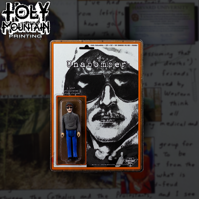 STRAIGHT TO HELL TOY CO - UNABOMBER FIGURE