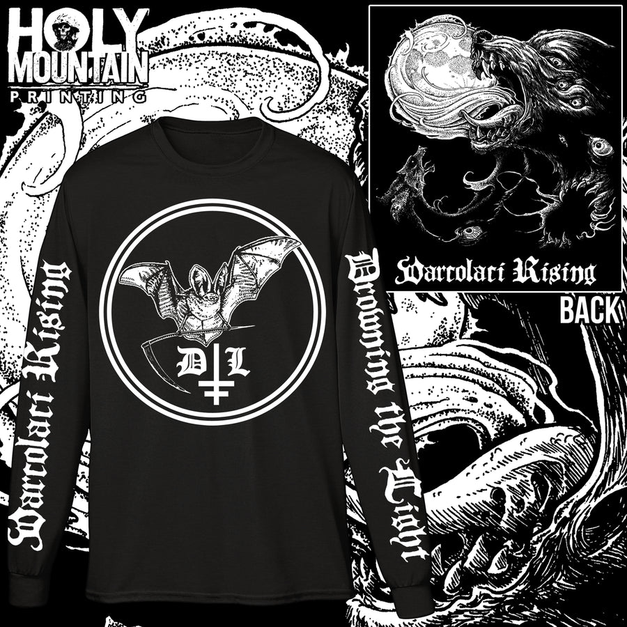 "DROWNING THE LIGHT ""VARCOLACI RISING"" LONG SLEEVE SHIRT"