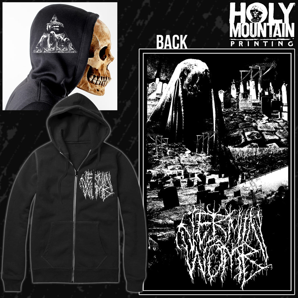 "VERMIN WOMB ""GALLOWS"" ZIP UP SWEATSHIRT"