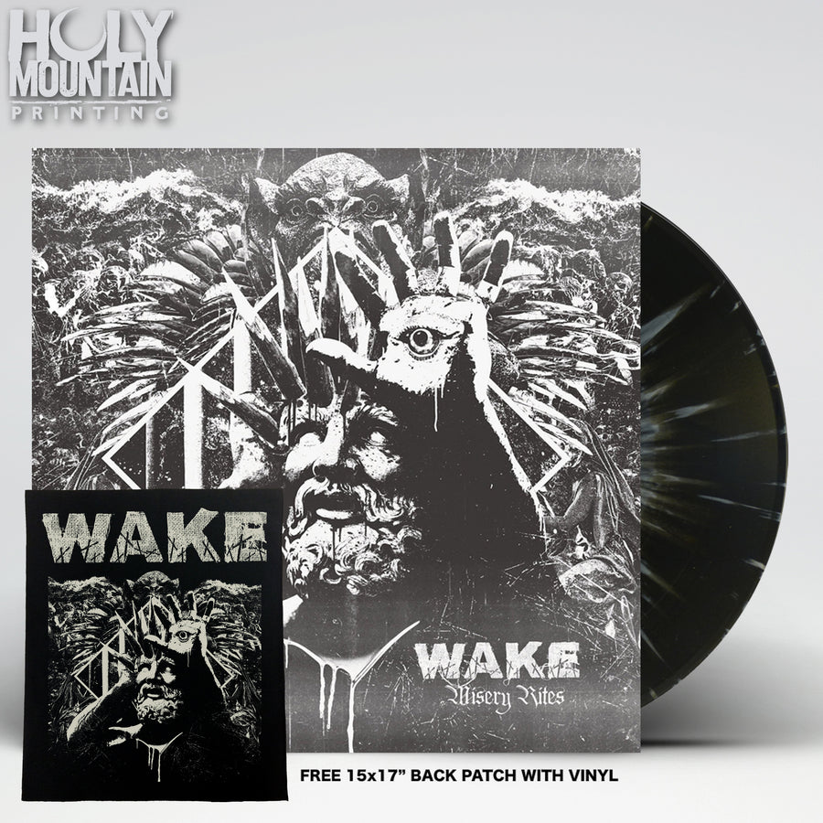 "WAKE ""MISERY RITES"" VINYL RECORD"