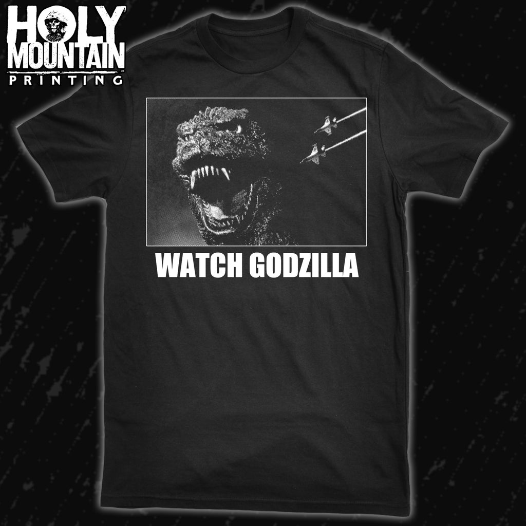 WATCH GODZILLA SHIRT