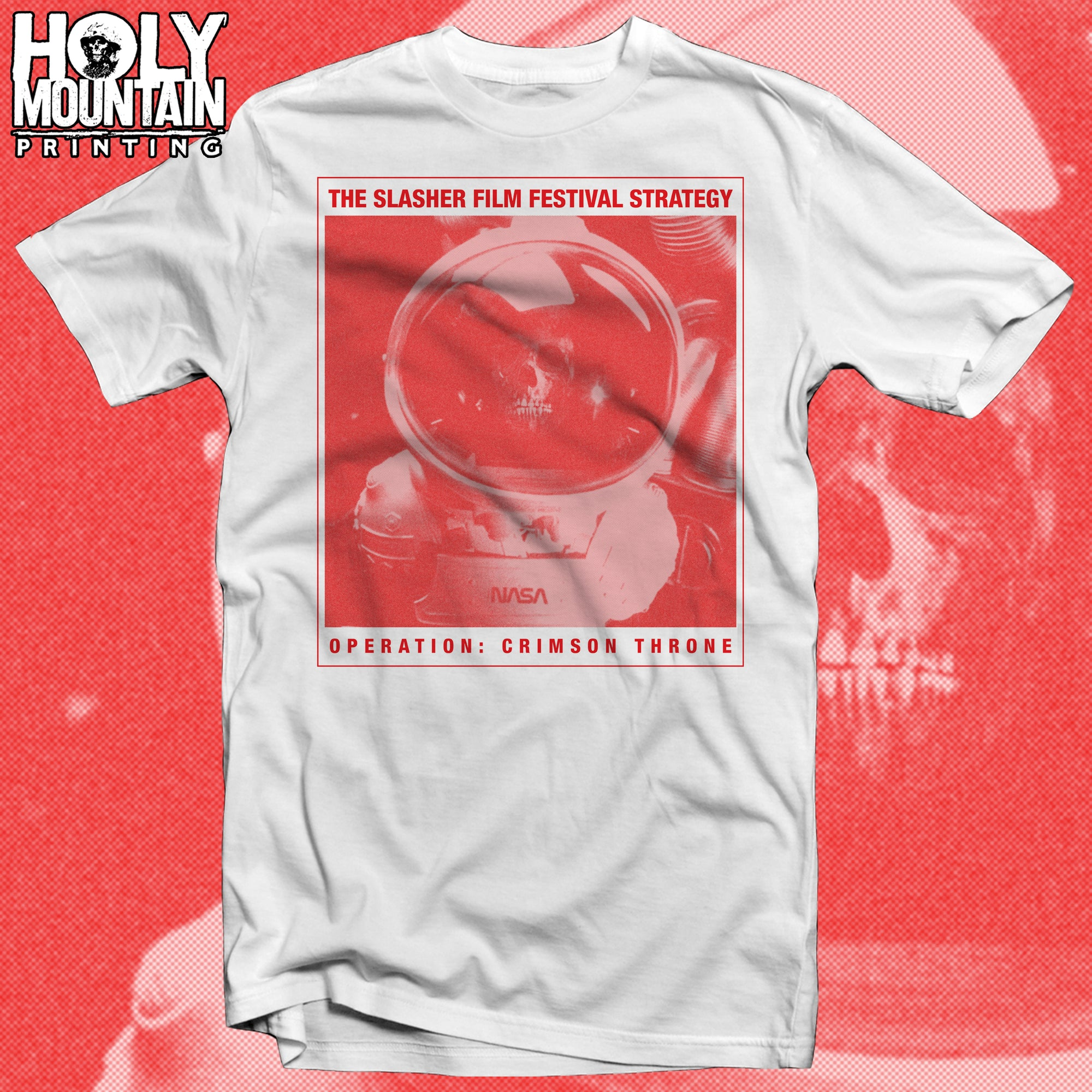 "SLASHER FILM FESTIVAL STRATEGY ""CRIMSON THRONE"" SHIRT"