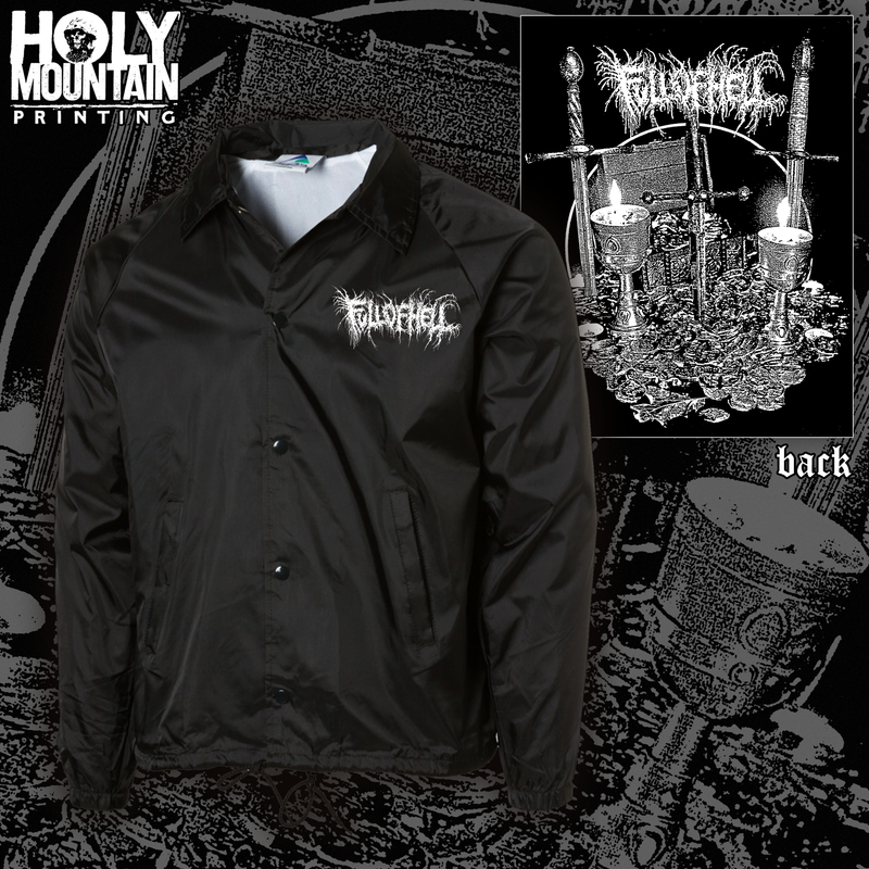 FULL OF HELL COACHES JACKET