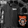 "FULL OF HELL ""CONNORS""  ZIP UP WINDBREAKER"