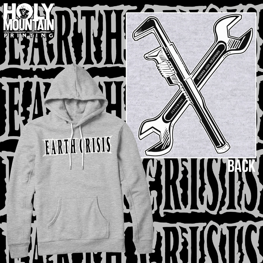 "EARTH CRISIS ""WRENCHES"" HOODED SWEATSHIRT"