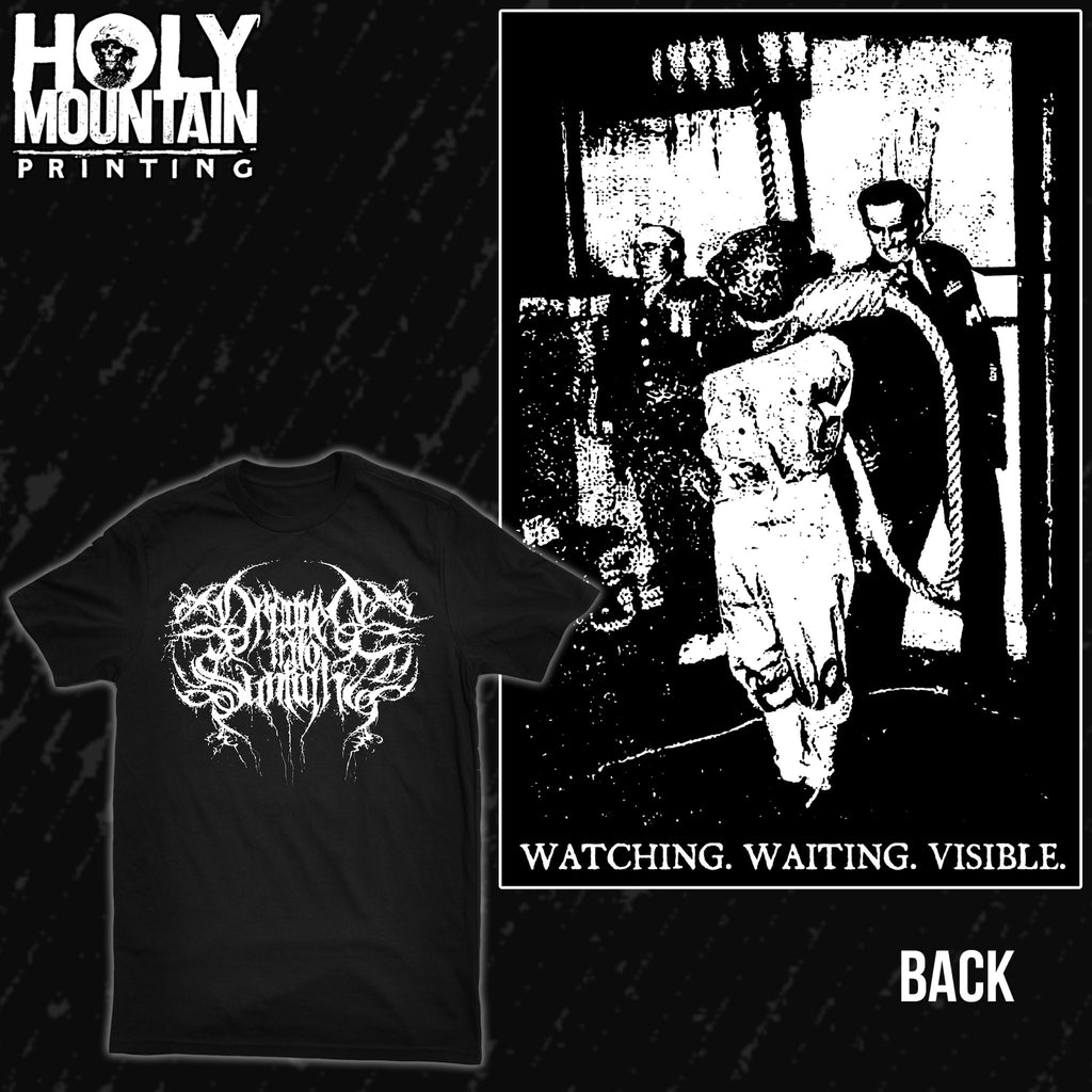 "DRAGGED INTO SUNLIGHT ""WAITING WATCHING VISIBLE"" SHIRT"
