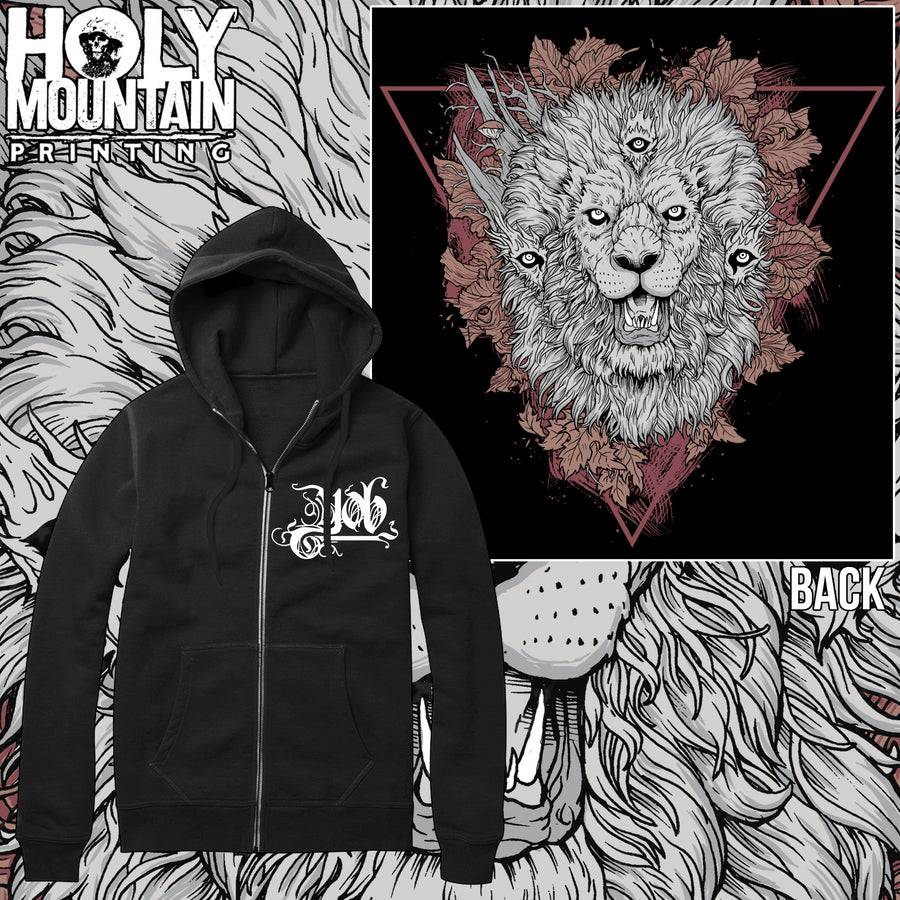 "YOB ""LIONS"" ZIP UP"