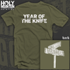 "YEAR OF THE KNIFE ""Ultimate Aggression"" SHIRT"