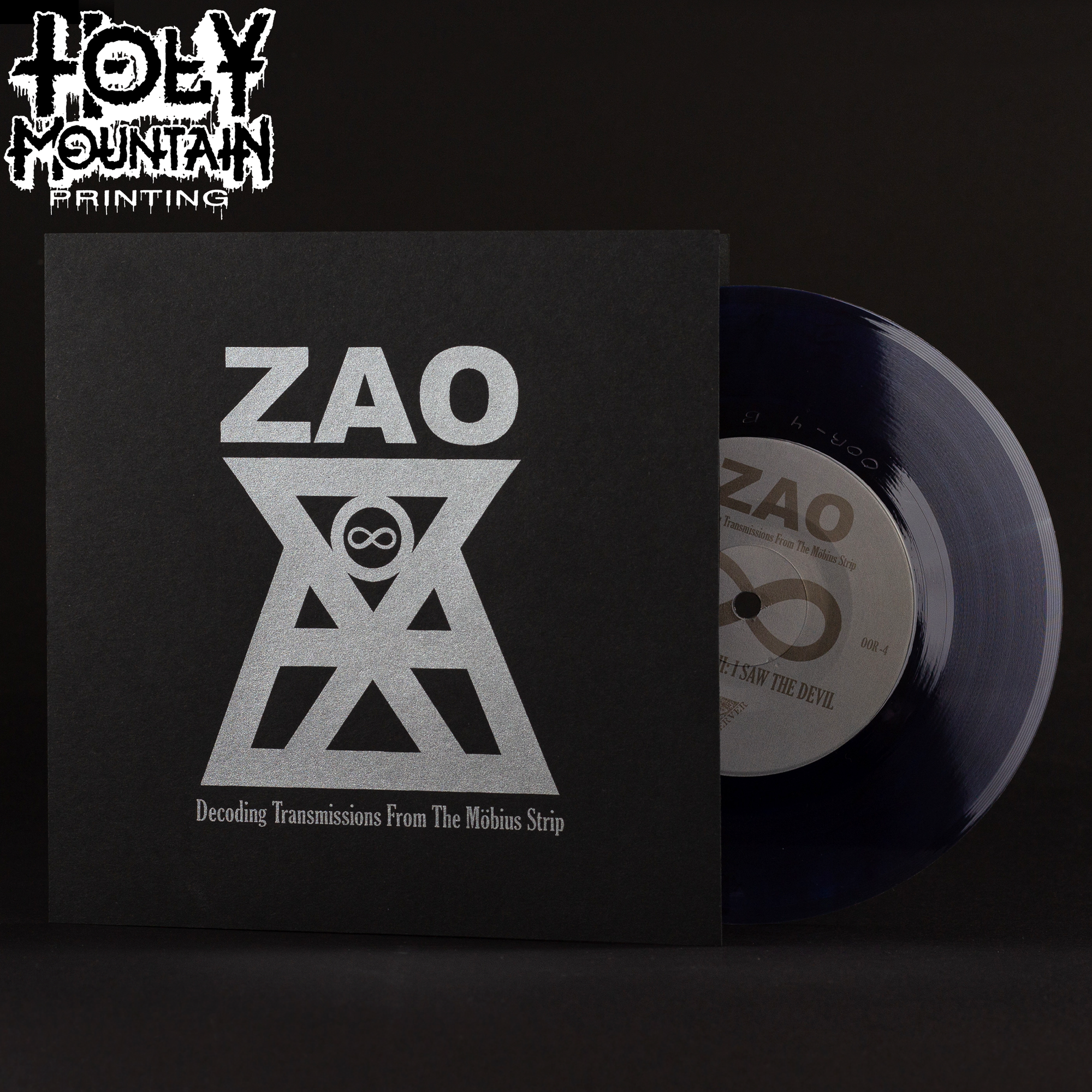 "ZAO ""DECODING TRANSMISSIONS FROM THE MÖBIUS STRIP"" 7"" VINYL RECORD"