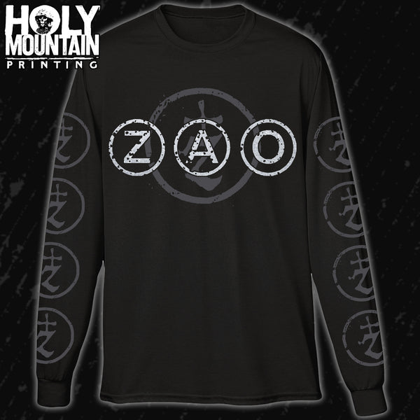 "ZAO ""CIRCLE LOGO"" LONG SLEEVE"