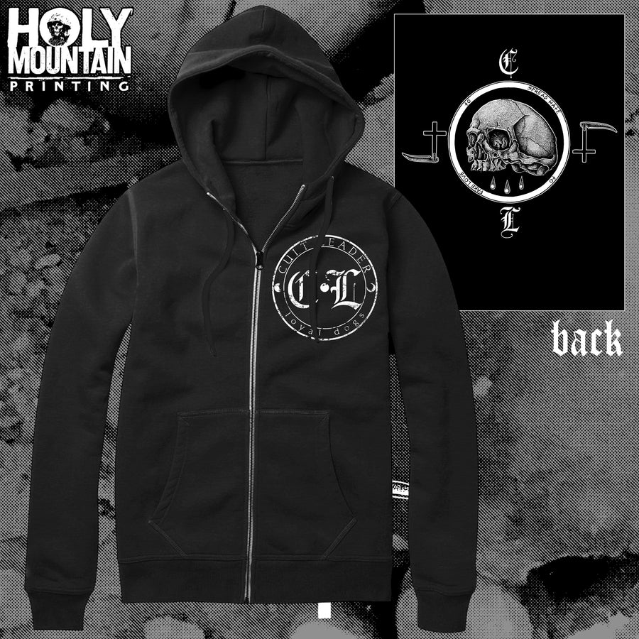 "CULT LEADER ""LOYAL DOGS"" ZIP UP SWEATSHIRTS"