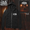 "HULDER ""HAIL THE DARKNESS"" ZIP UP SWEATSHIRT"