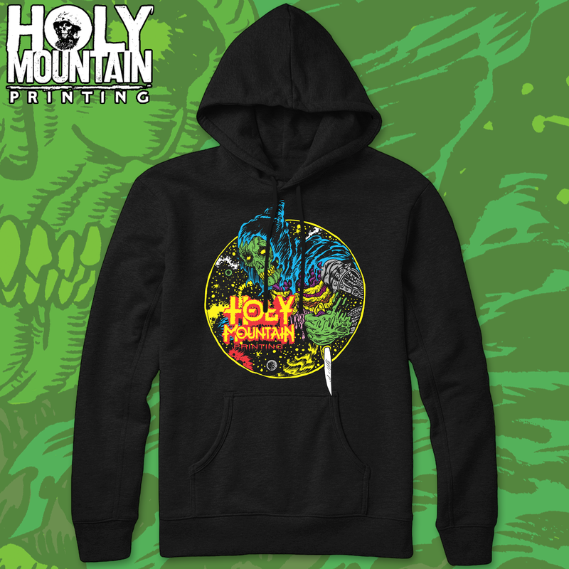 "HOLY MOUNTAIN ""SPACE TEMPLAR"" PULLOVER HOOD"