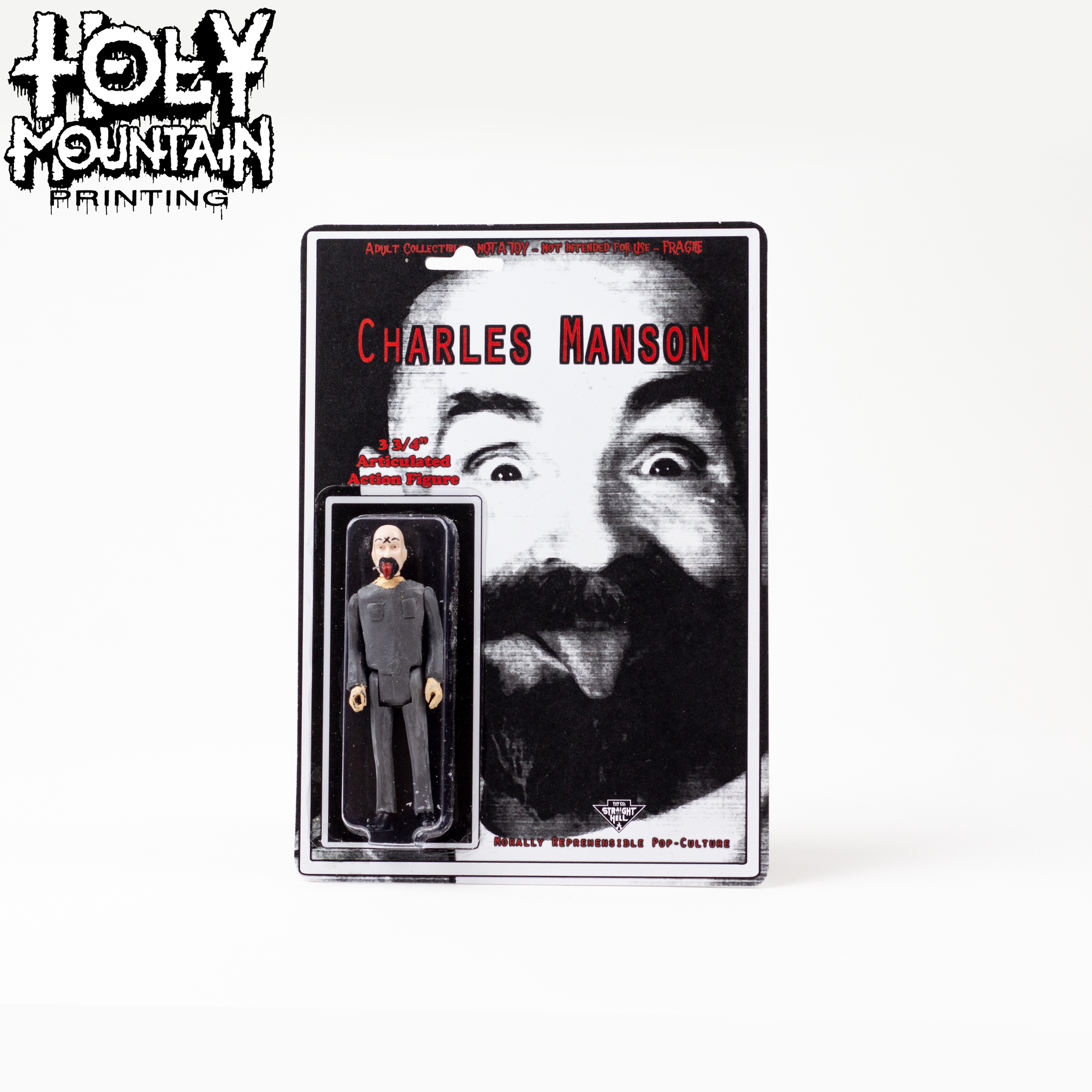 STRAIGHT TO HELL TOY CO - CHARLES MANSON
