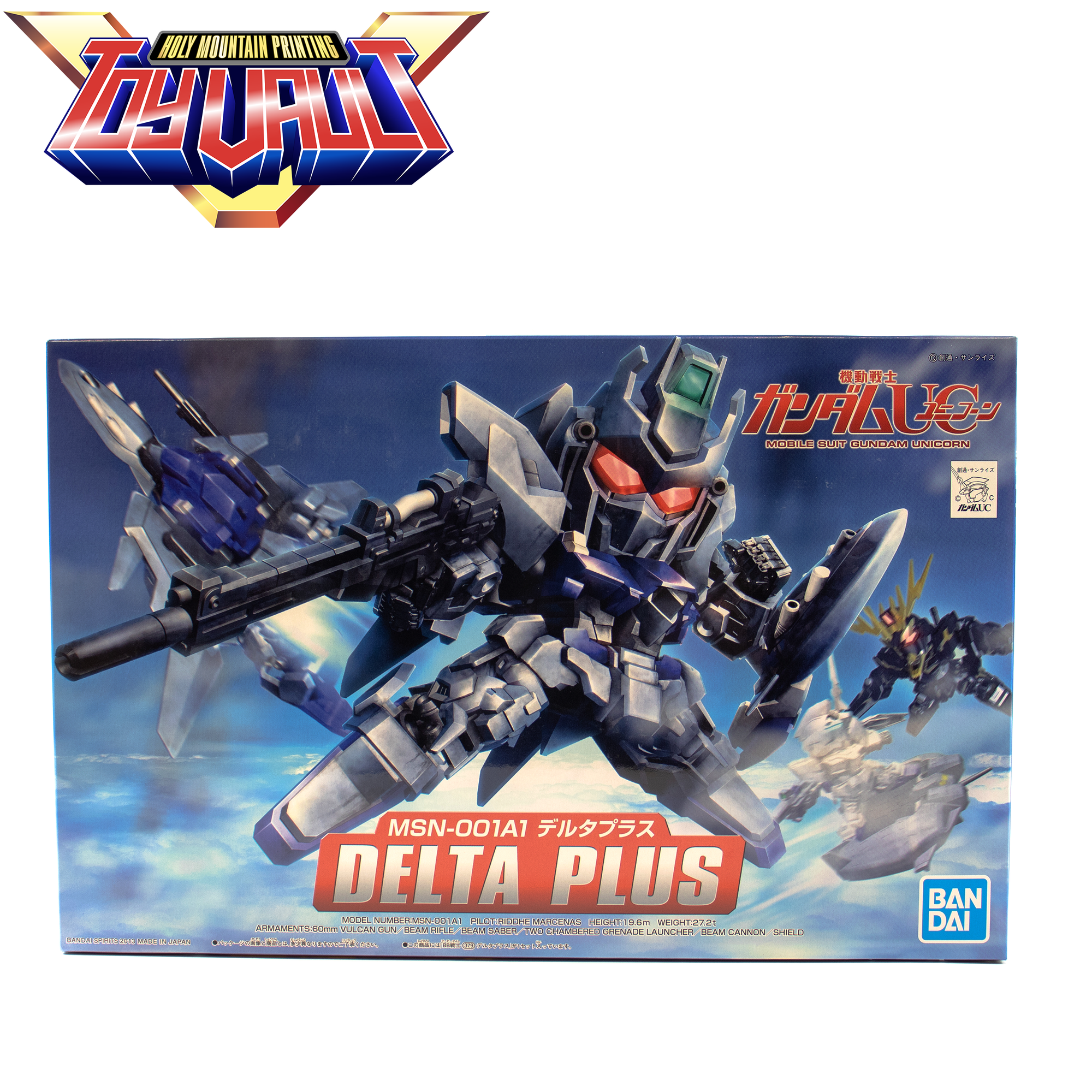 BANDAI - BB SD SENSHI BB379 DELTA PLUS - MODEL KIT