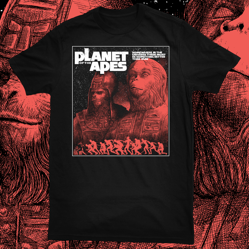 PLANET OF THE APES SHIRT
