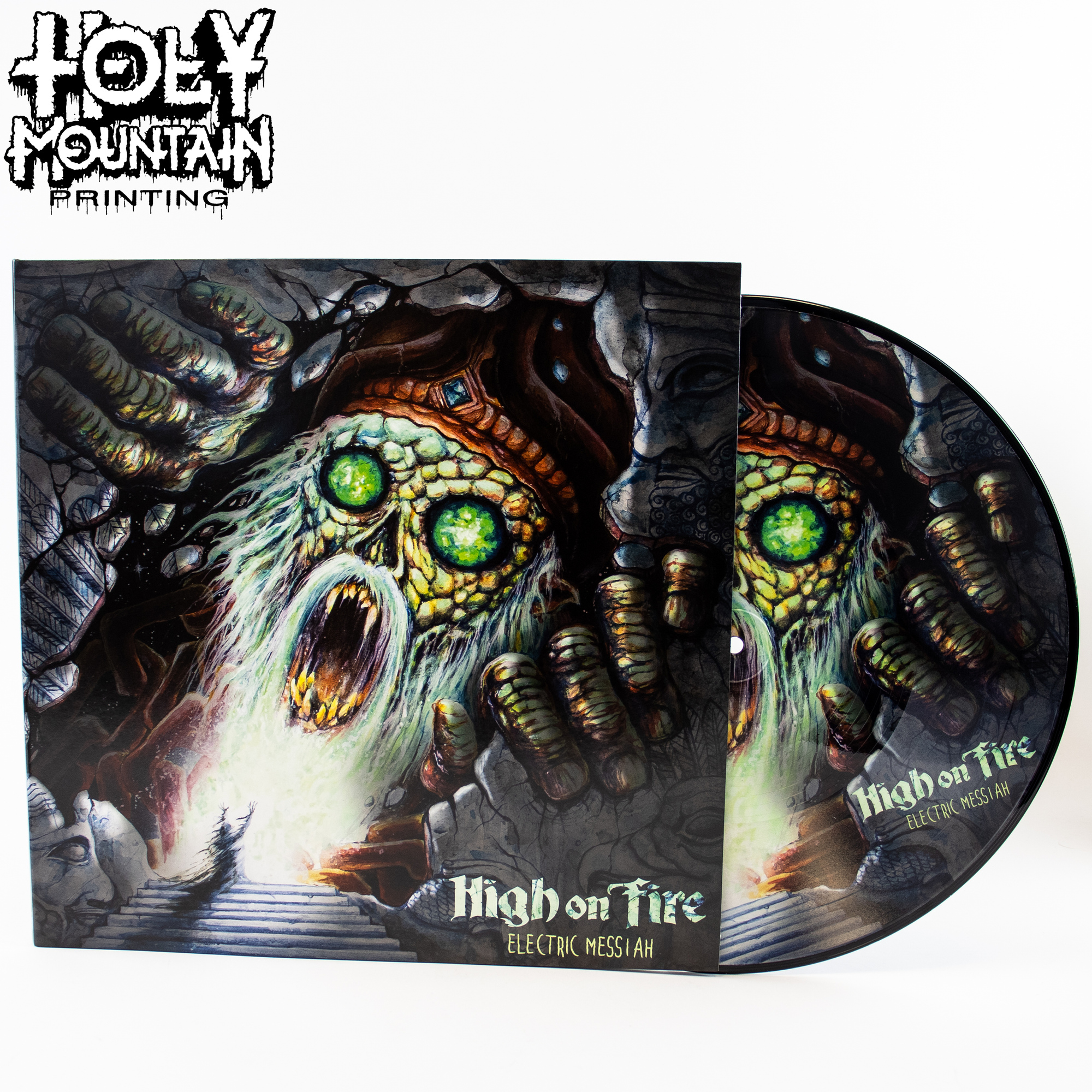 "High On Fire ""Electric Messiah"" Picture Disc Vinyl Record"