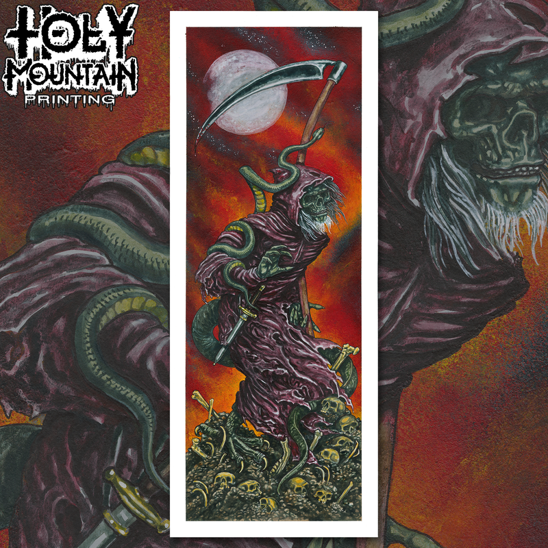 Holy Mountain Templar Print