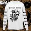 "PORTRAYAL OF GUILT ""HORNED SKULL"" LONG SLEEVE SHIRT"