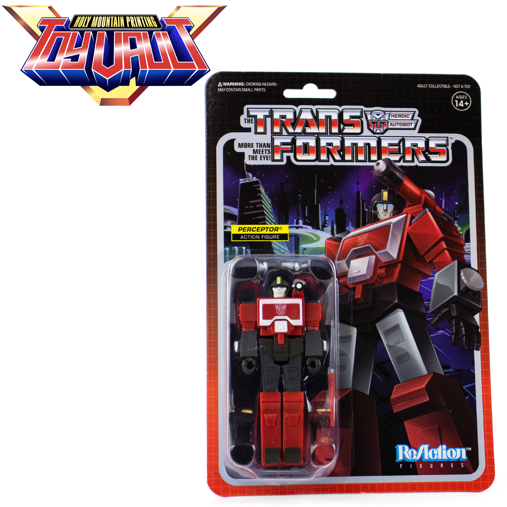 SUPER7 - Transformers ReAction Wave 3 - Perceptor