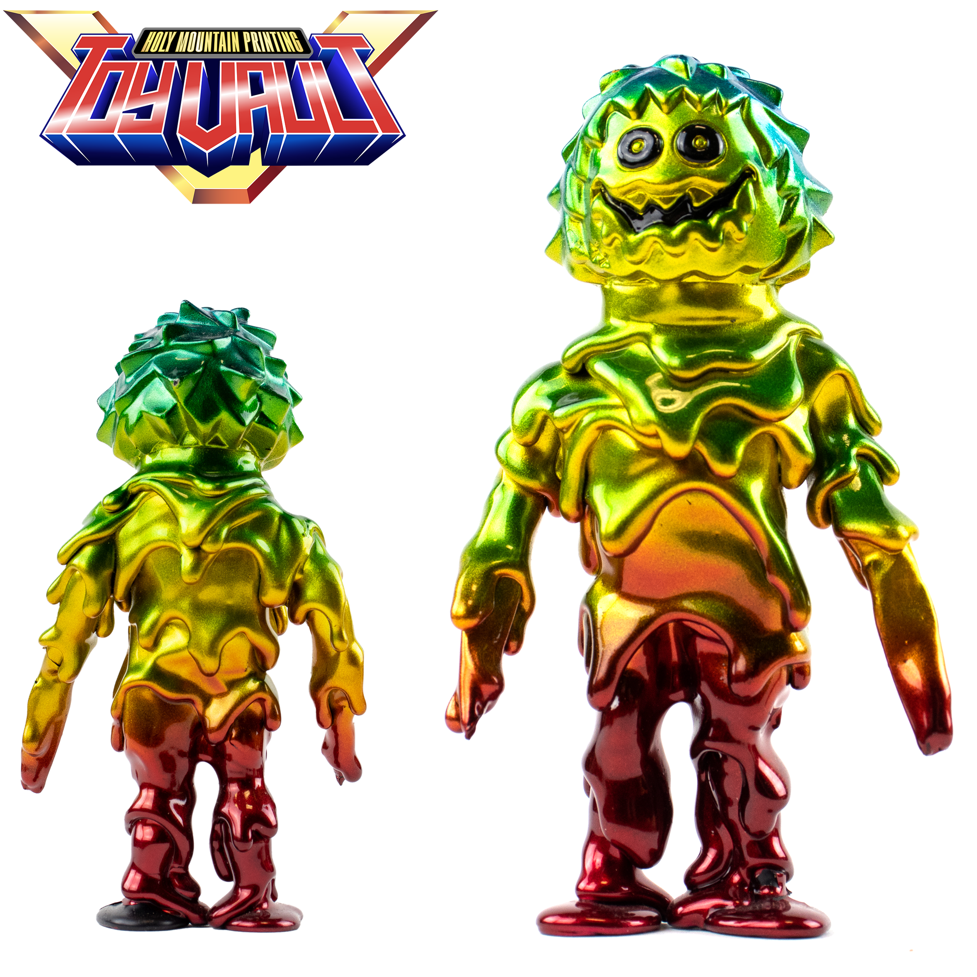PRE-OWNED - RAINBOW MELT MONSTER SOFUBI