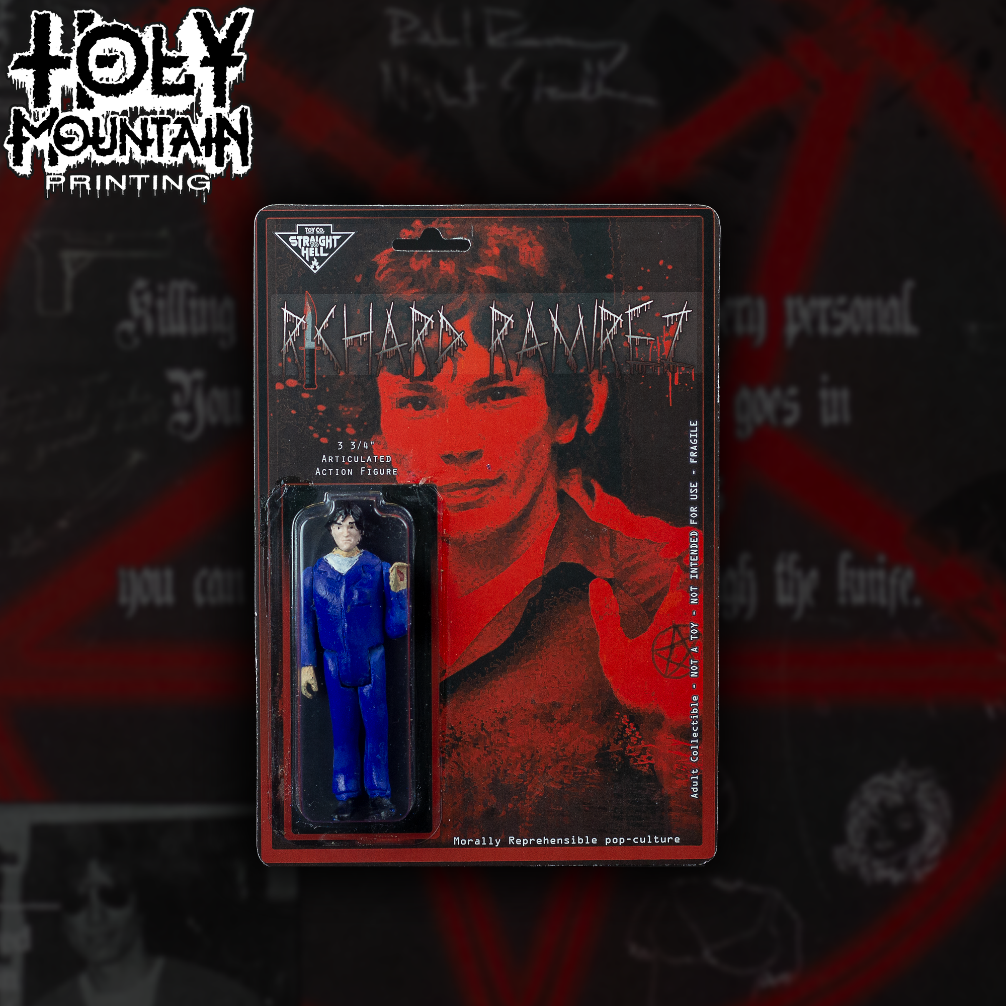 STRAIGHT TO HELL TOY CO - RAMIREZ FIGURE