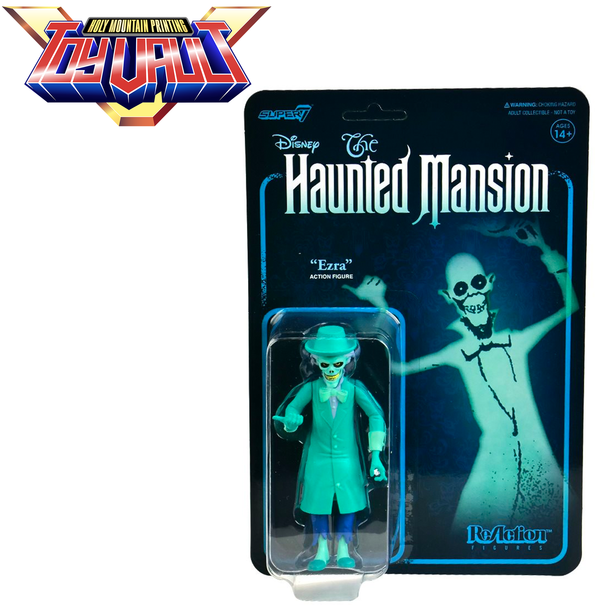 SUPER7 - The Haunted Mansion ReAction - Ezra - Figure