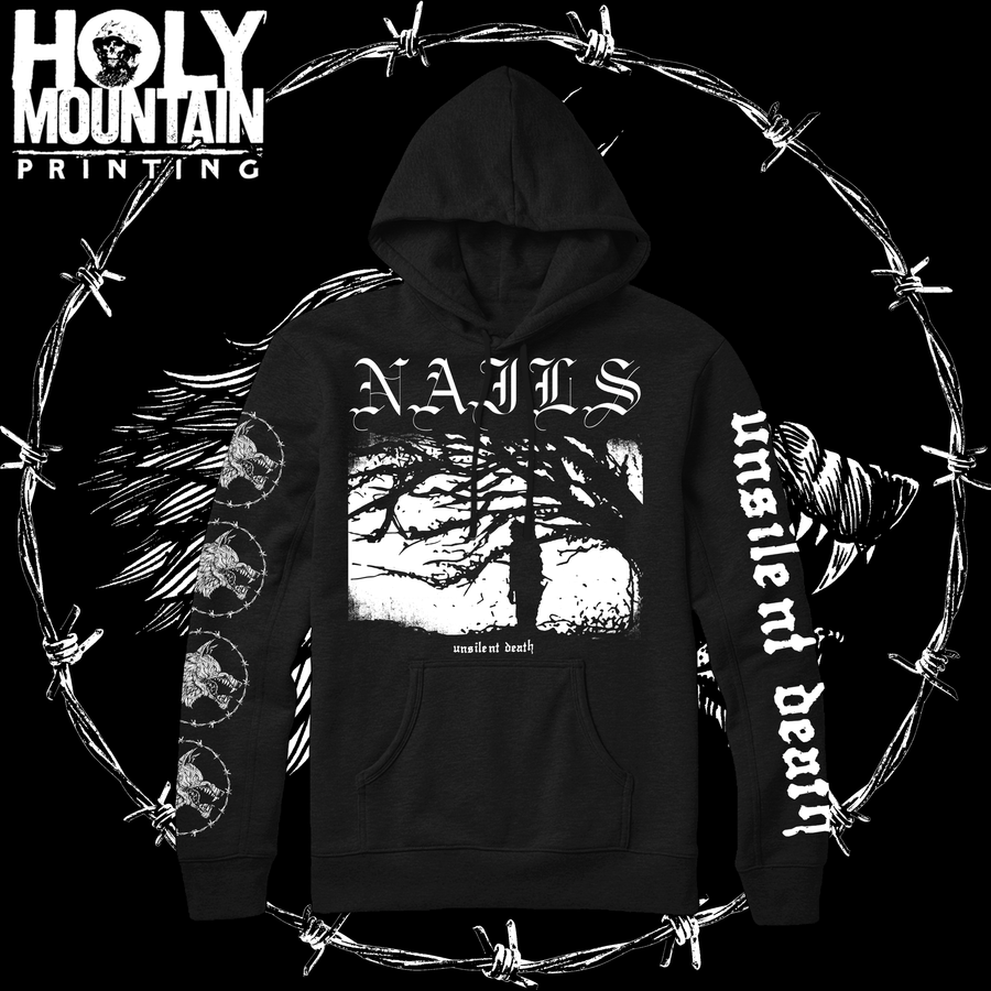 "NAILS ""UNSILENT DEATH"" SWEATSHIRT"