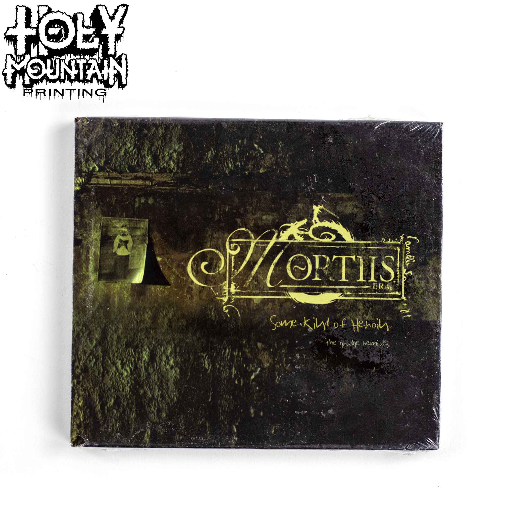 "MORTIIS "" Some Kind Of Heroin (The Grudge Remixes)"" CD"