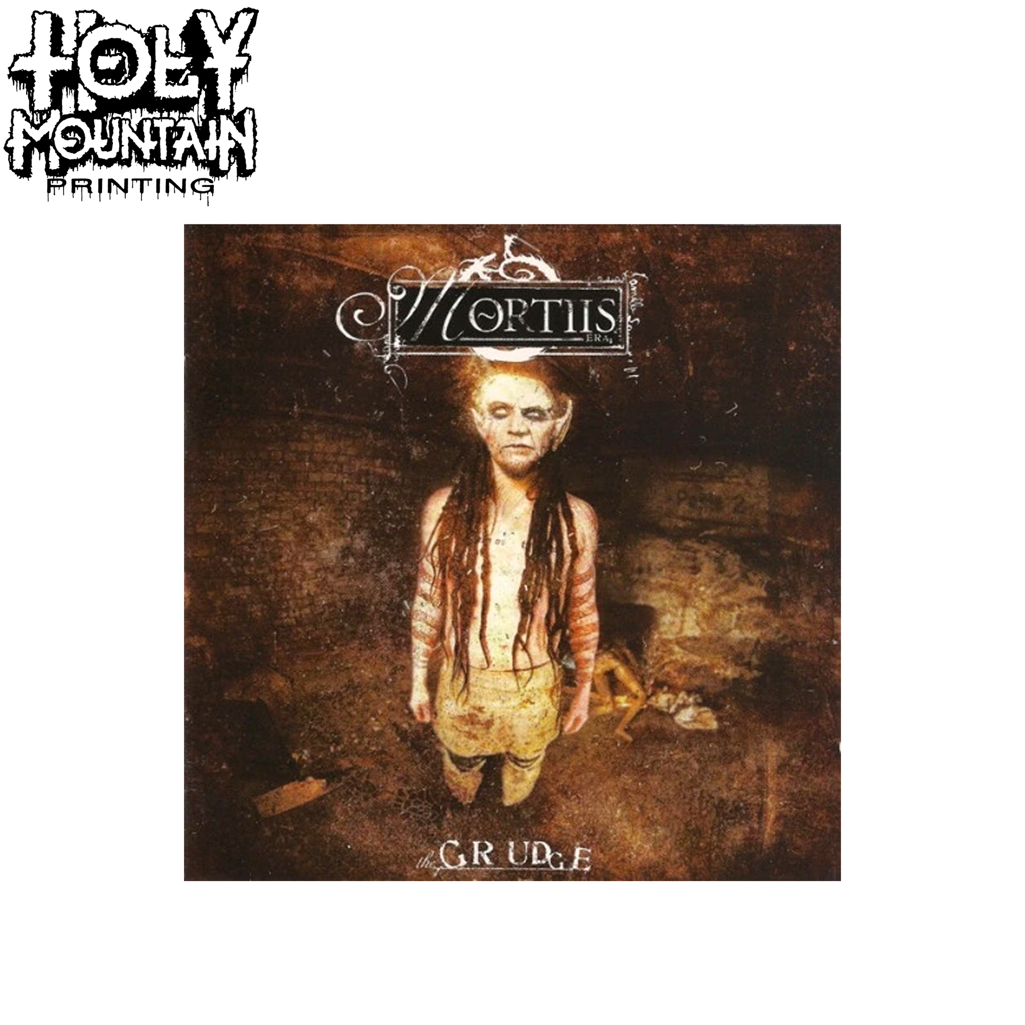"MORTIIS "" THE GRUDGE"" CD"