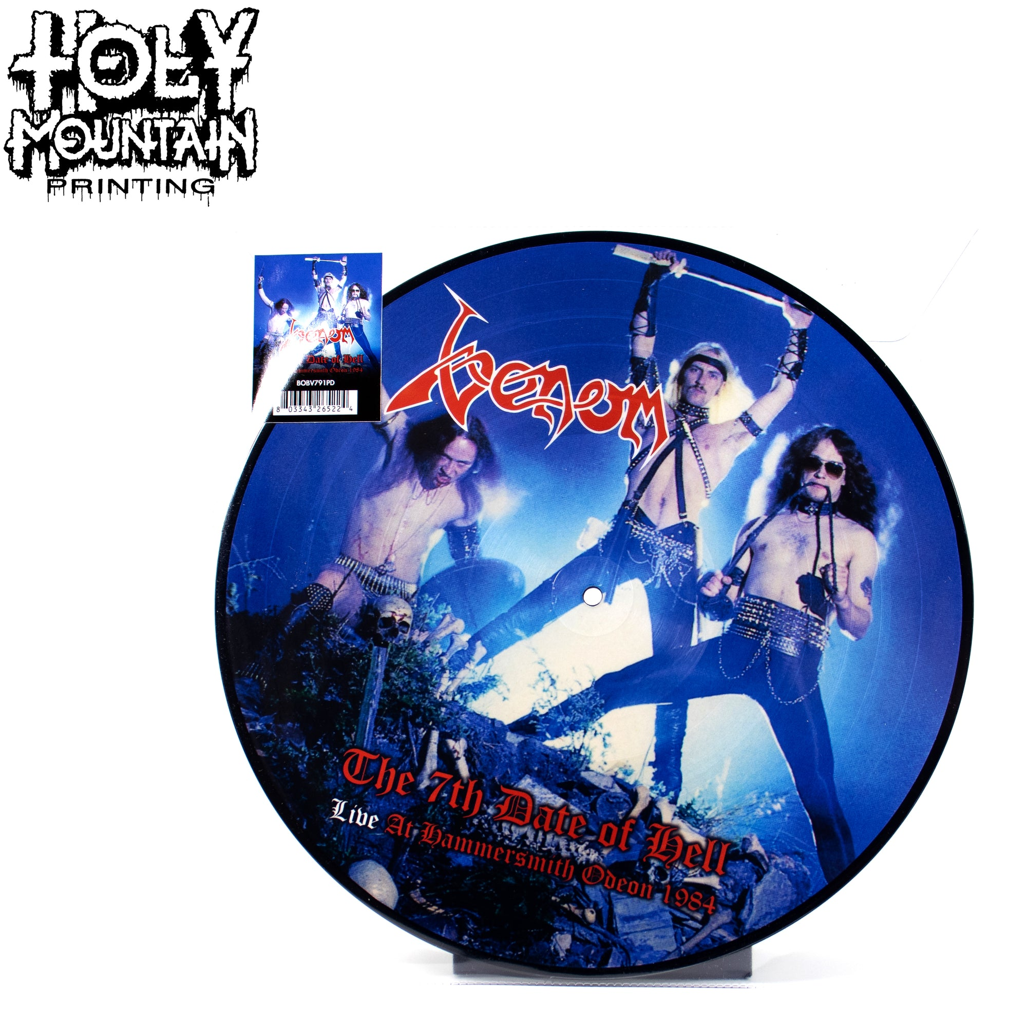 "Venom ""7th Date Of Hell - Live At Hammersmith 1984"" Vinyl Record"