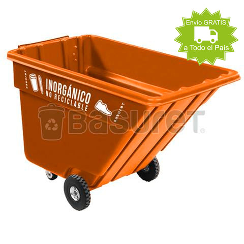 Contenedor inclinable para Basura BW-750 Inorgánico no Reciclable 750 Lt