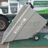 Contenedor inclinable para Basura BW-750 Inorgánico Reciclable, 750 Lt, 162x84x104 cm