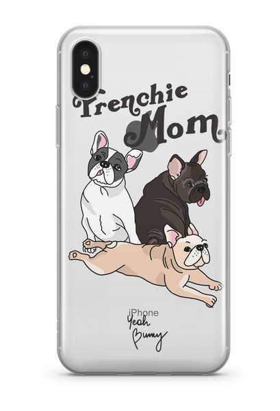 Case - Frenchie Mom - iPhone Xs/X