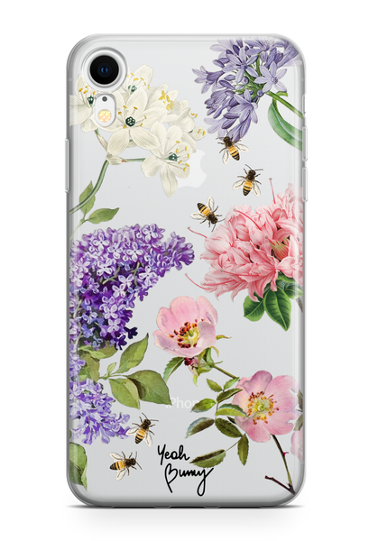 Case - Pink Flowers - Iphone Xr