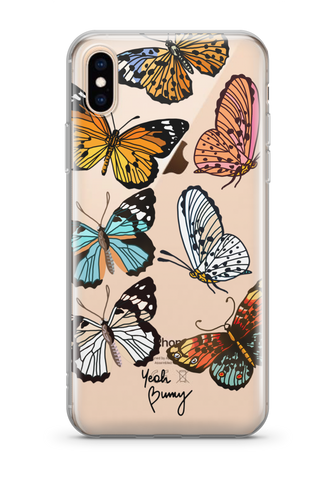 Case - Butterfly - iPhone Xs/X