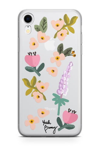 Case - Pastel Flowers - iPhone Xr