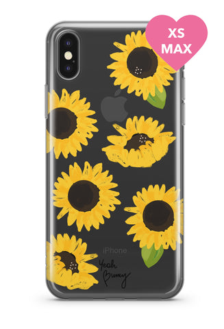 Case - Sunflowers - Iphone Xs MAX