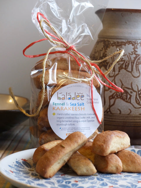 Karakeesh - Fennel and Sea Salt Savoury Biscuits