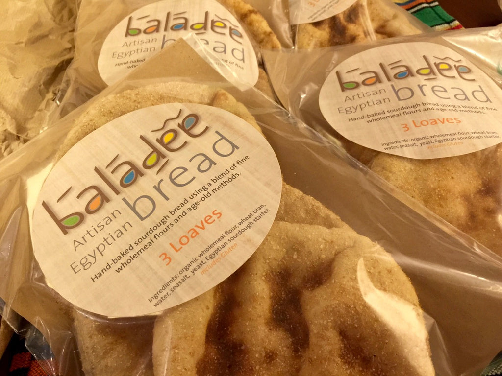 EGYPTIAN BALADEE BREAD - AUTHENTIC SOURDOUGH BREAD