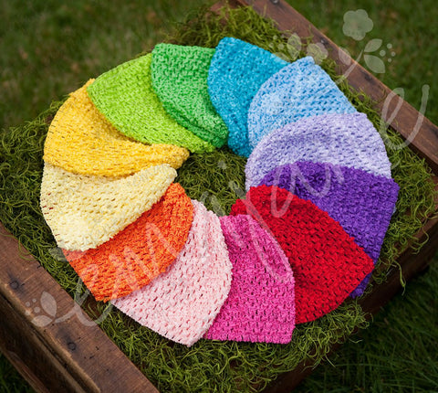 Bright Super Rainbow Waffle Beanie Pack, Hats, Ema Jane Boutique
