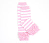 Baby Leg Warmer (Pink and White Cupcake Ruffle) - Ema Jane