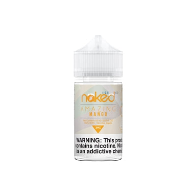 Naked 100 Amazing Mango ICE E-Liquid 60ML - Asmodus Wholesale