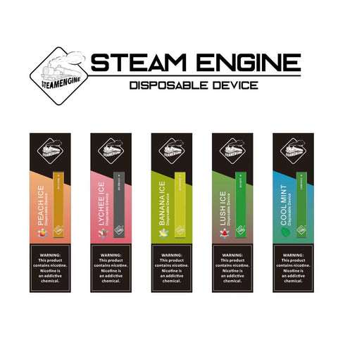 Steam Engine Disposable Pod Device (50MG) (CA Taxes Paid) - Asmodus Wholesale
