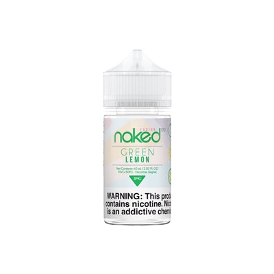 Naked 100 Fusion Green Lemon E-Liquid 60ML - Asmodus Wholesale