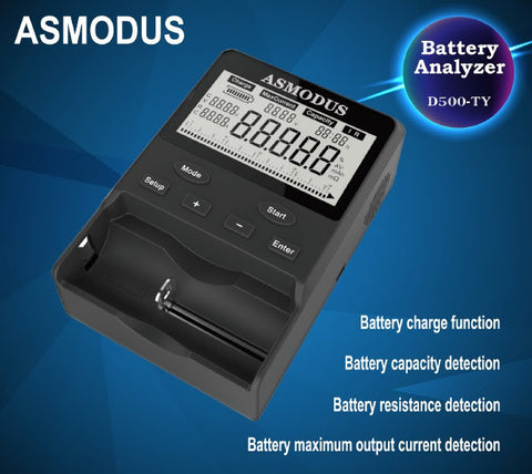 Asmodus Battery Analyzer & Charger D500-TY - Asmodus Wholesale